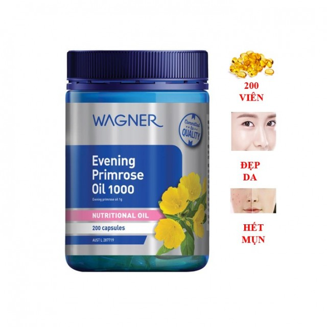 Tinh dầu hoa anh thảo Wagner Evening Primrose Oil 1000